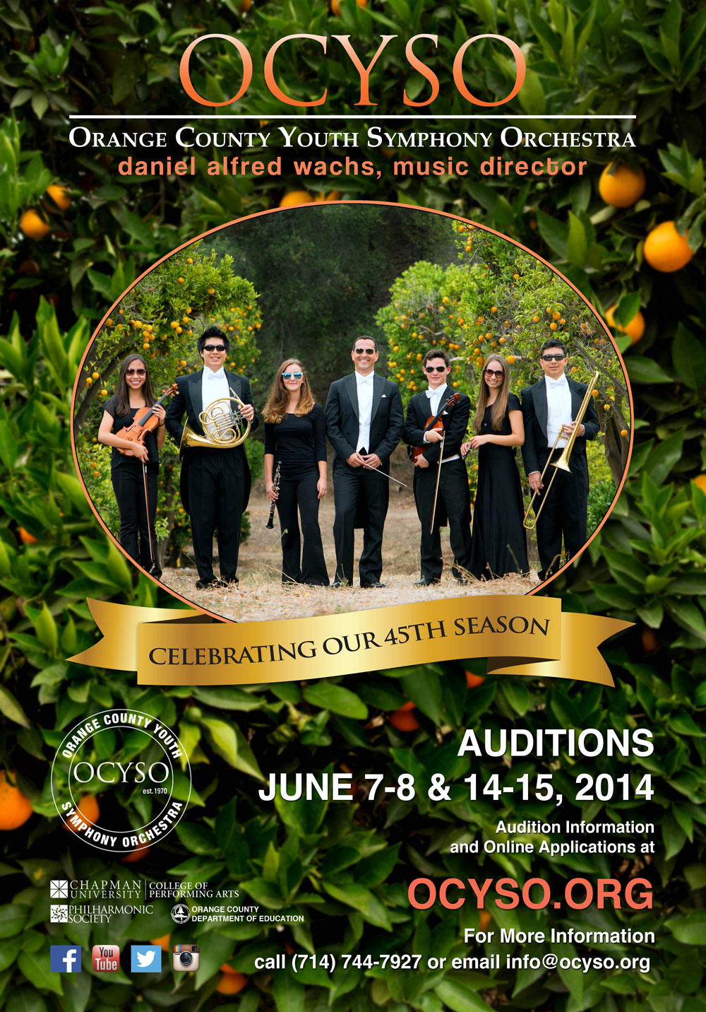OCYSO Audition 2014